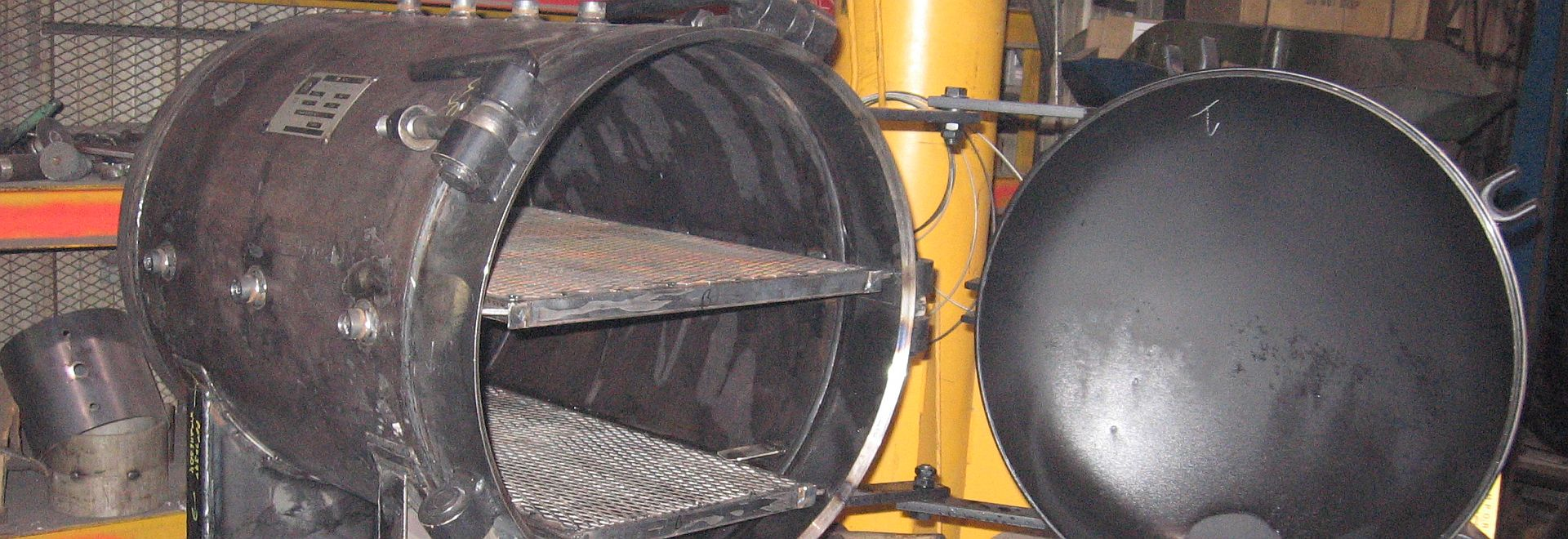 Hays manufactures ASME tanks and pressure vessels